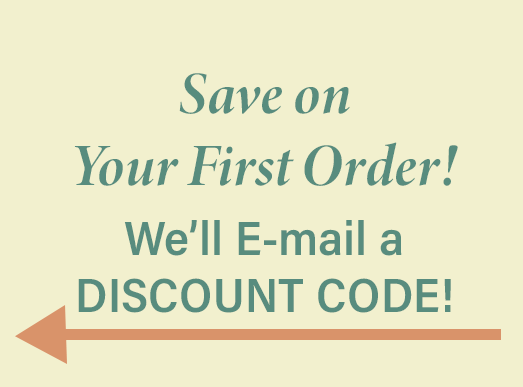 Save on your first order.