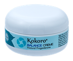 Kokoro® Balance Creme For Women, 2oz Jar, Auto Ship  natural progesterone cream,Balance Creme for Women,vegan formula,natural progesterone,progesterone cream acne,progesterone cream safe,menopause,progesterone cream hot flashes,progesterone cream night sweats,pms treatment natural,hormone cream,hormone creme,Kokoro,paraben free,soy free,estrogen dominance symptoms,cruelty free,estrogen dominance,bio-identical